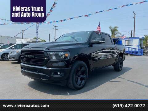 2019 RAM Ram Pickup 1500 for sale at Rivieras Truck and Auto Group in Chula Vista CA