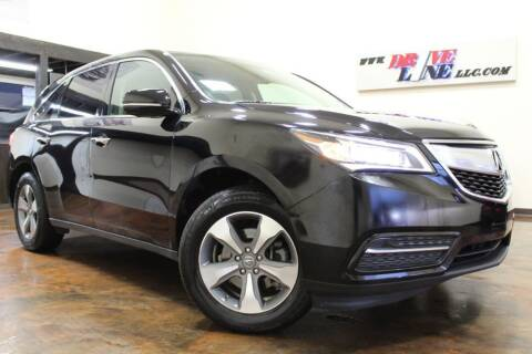 2014 Acura MDX for sale at Driveline LLC in Jacksonville FL