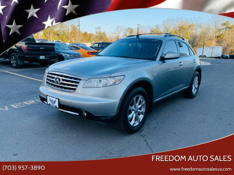 2007 Infiniti FX35 for sale at Freedom Auto Sales in Chantilly VA