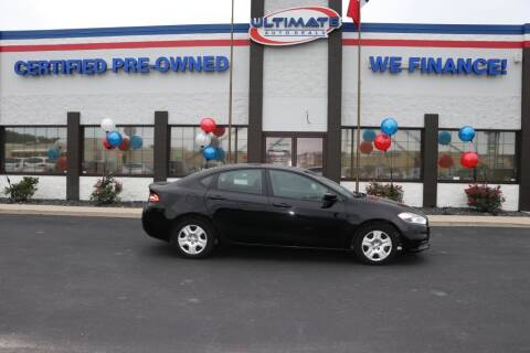 2016 Dodge Dart for sale at Ultimate Auto Deals in Fort Wayne IN