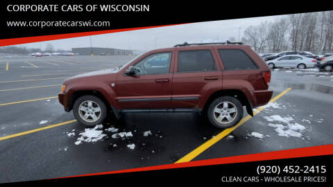 2007 Jeep Grand Cherokee for sale at CORPORATE CARS OF WISCONSIN - DAVES AUTO SALES OF SHEBOYGAN in Sheboygan WI