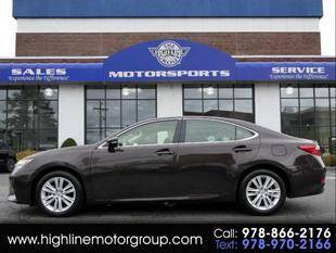 2014 Lexus ES 350 for sale at Highline Group Motorsports in Lowell MA