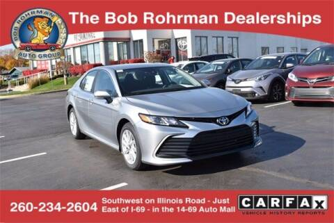 2021 Toyota Camry for sale at BOB ROHRMAN FORT WAYNE TOYOTA in Fort Wayne IN