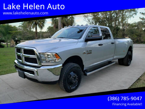 2018 RAM Ram Pickup 3500 for sale at Lake Helen Auto in Lake Helen FL