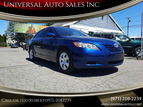 2007 Toyota Camry for sale at Universal Auto Sales Inc in Salem OR
