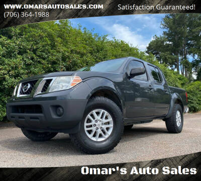 2015 Nissan Frontier for sale at Omar's Auto Sales in Martinez GA
