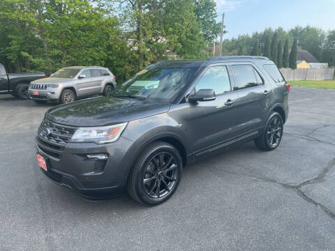 2018 Ford Explorer for sale at Glen's Auto Sales in Fremont NH