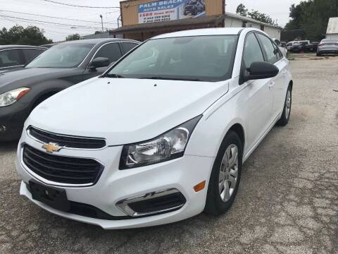 2016 Chevrolet Cruze Limited for sale at Palmer Auto Sales in Rosenberg TX
