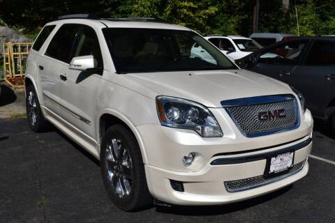 2011 GMC Acadia for sale at Ramsey Corp. in West Milford NJ