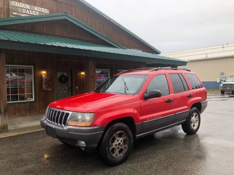 2000 Jeep Grand Cherokee for sale at Coeur Auto Sales in Hayden ID