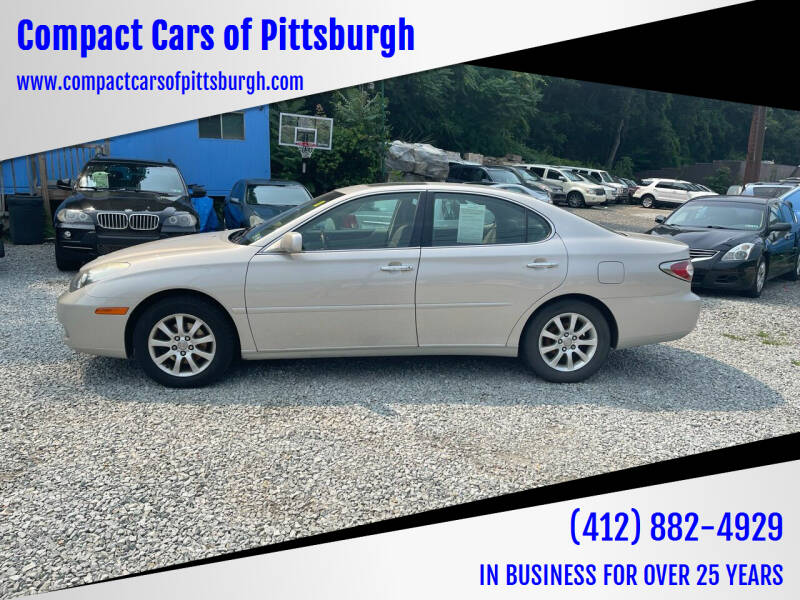 2002 Lexus ES 300 for sale at Compact Cars of Pittsburgh in Pittsburgh PA