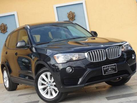 2016 BMW X3 for sale at Paradise Motor Sports LLC in Lexington KY