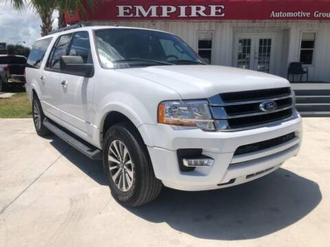 2017 Ford Expedition EL for sale at Empire Automotive Group Inc. in Orlando FL