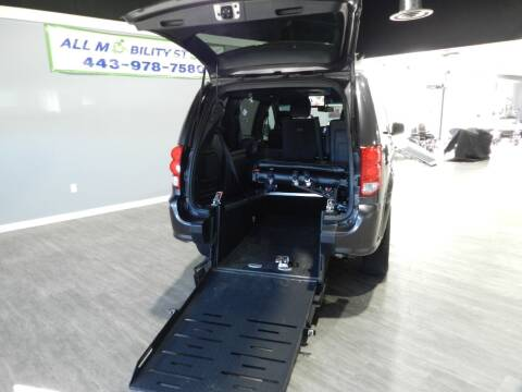 2016 Dodge Grand Caravan for sale at ALL MOBILITY STORE in Delmar MD