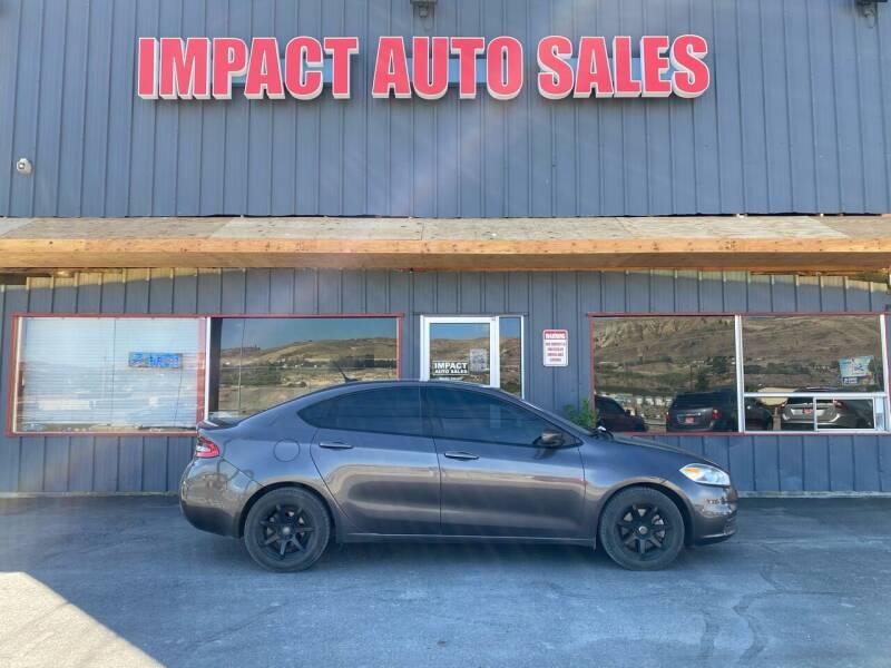2015 Dodge Dart for sale at Impact Auto Sales in Wenatchee WA