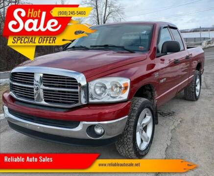 2008 Dodge Ram Pickup 1500 for sale at Reliable Auto Sales in Roselle NJ