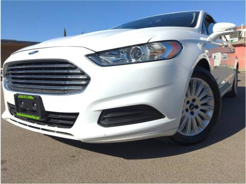 2015 Ford Fusion Hybrid for sale at MADERA CAR CONNECTION in Madera CA