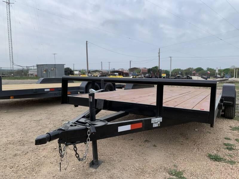 """2021 P & C  - CAR HAULER 83"""" X 18 for sale at LJD Sales in Lampasas TX"""