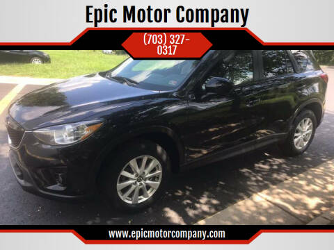 2013 Mazda CX-5 for sale at Epic Motor Company in Chantilly VA