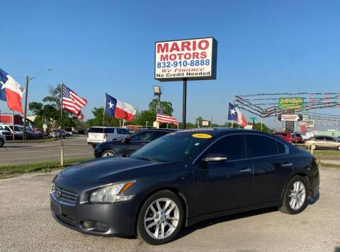 2011 Nissan Maxima for sale at Mario Motors in South Houston TX