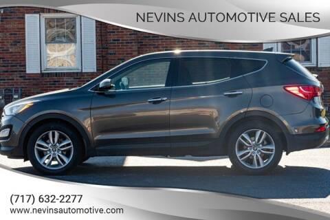 2013 Hyundai Santa Fe Sport for sale at Nevins Automotive Sales in Hanover PA