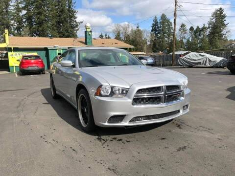 2012 Dodge Charger for sale at ALHAMADANI AUTO SALES in Spanaway WA