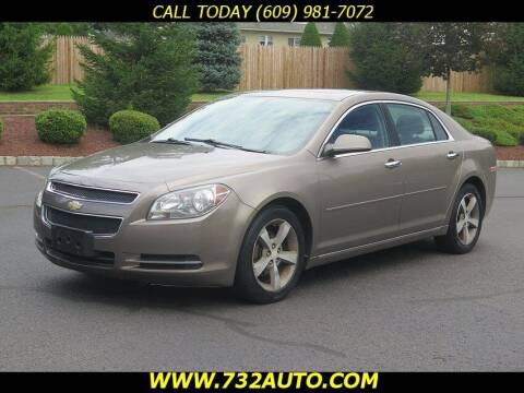 2012 Chevrolet Malibu for sale at Absolute Auto Solutions in Hamilton NJ