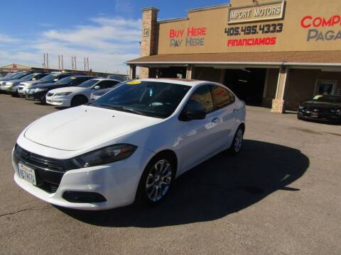 2013 Dodge Dart for sale at Import Motors in Bethany OK