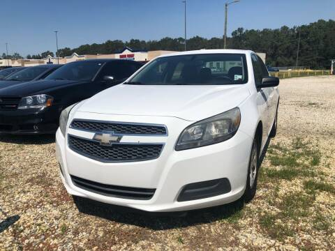 2013 Chevrolet Malibu for sale at Paul's Auto Sales of Picayune in Picayune MS