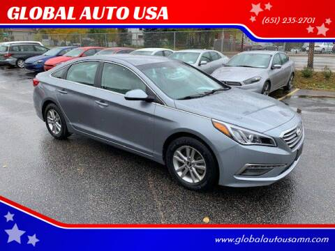2015 Hyundai Sonata for sale at GLOBAL AUTO USA in Saint Paul MN