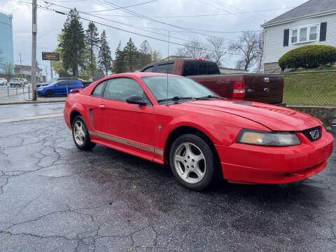 2002 Ford Mustang for sale at Allan Auto Sales, LLC in Fall River MA