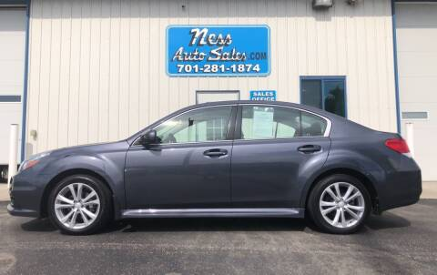 2014 Subaru Legacy for sale at NESS AUTO SALES in West Fargo ND