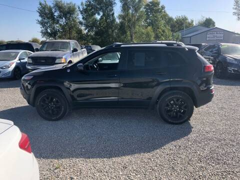 2016 Jeep Cherokee for sale at LYNDON MOTORS in Lyndon KS