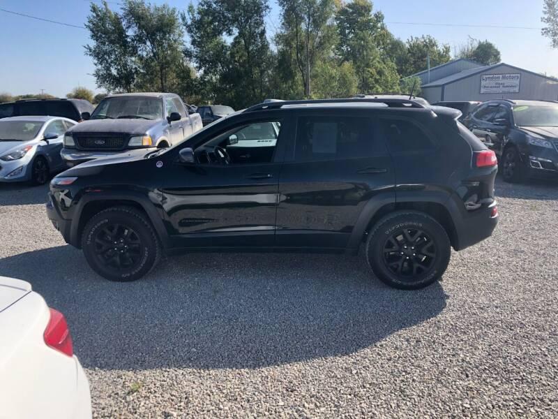 2016 Jeep Cherokee for sale at LYNDON MOTORS in Lyndon KS