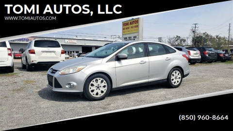 2012 Ford Focus for sale at TOMI AUTOS, LLC in Panama City FL