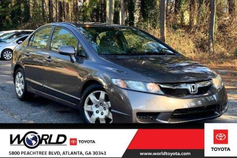 2010 Honda Civic for sale at CU Carfinders in Norcross GA