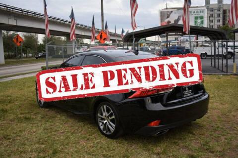 2020 Lexus IS 300 for sale at ELITE MOTOR CARS OF MIAMI in Miami FL