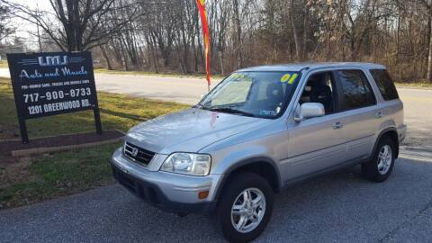 2001 Honda CR-V for sale at LMJ AUTO AND MUSCLE in York PA