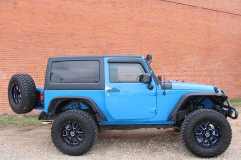 2011 Jeep Wrangler for sale at Classic Car Deals in Cadillac MI