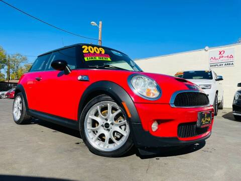 2009 MINI Cooper for sale at Alpha AutoSports in Roseville CA
