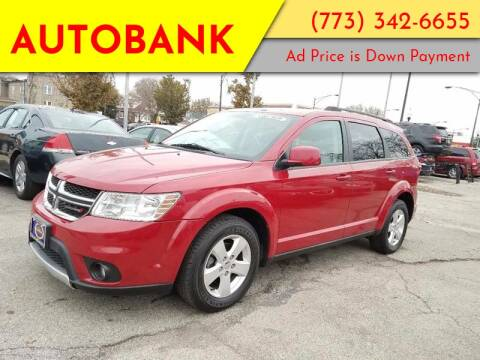 2012 Dodge Journey for sale at AutoBank in Chicago IL