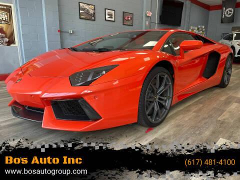 2015 Lamborghini Aventador for sale at Bos Auto Inc in Quincy MA