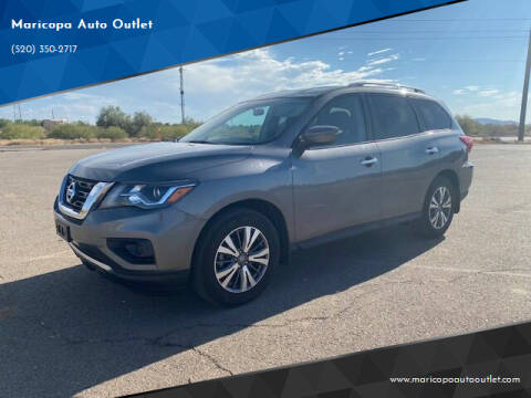 2017 Nissan Pathfinder for sale at Maricopa Auto Outlet in Maricopa AZ