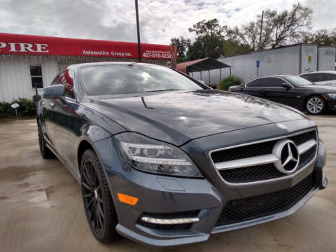 2013 Mercedes-Benz CLS for sale at Empire Automotive Group Inc. in Orlando FL