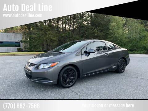 2012 Honda Civic for sale at Auto Deal Line in Alpharetta GA