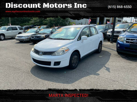 2007 Nissan Versa for sale at Discount Motors Inc in Madison TN