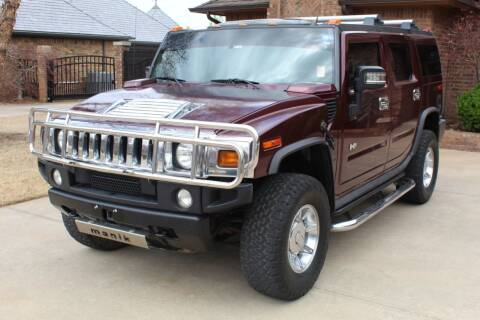 2006 HUMMER H2 for sale at CANTWEIGHT CLASSICS in Maysville OK