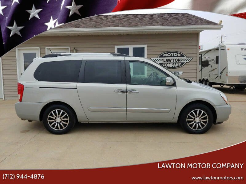 2012 Kia Sedona for sale at Lawton Motor Company in Lawton IA