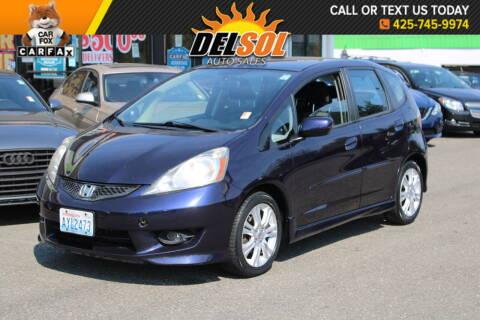 2009 Honda Fit for sale at Del Sol Auto Sales in Everett WA