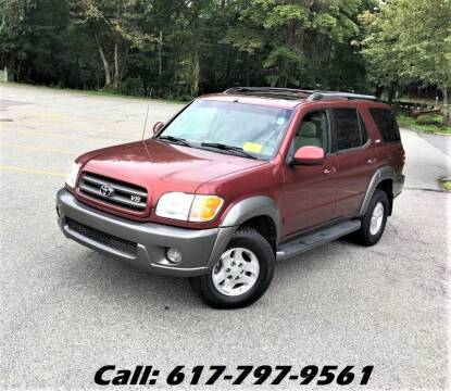 2003 Toyota Sequoia for sale at Wheeler Dealer Inc. in Acton MA